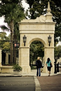 Entrance to Rollins College