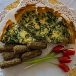 greek pie with tomato tulips by carla