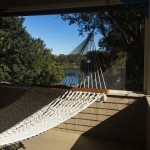hammock with afternoon sun by carla