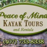 Peace of Mind Kayak Tours for Central Florida Kayak Tours