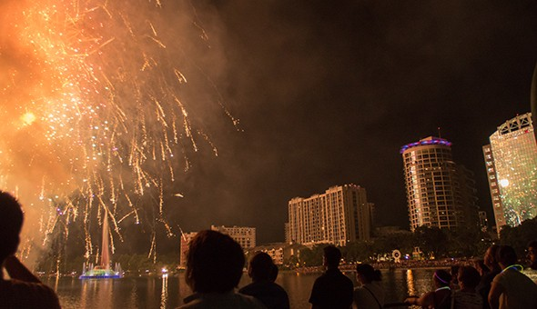 4th of July in Orlando