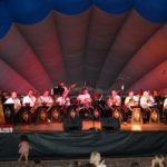 The Performing Arts Stage Band featured Saturday night 2016 Art Under the Stars