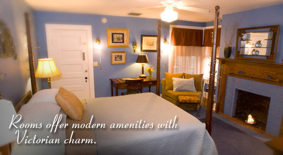 Charming Orlando Bed and Breakfast Guest Rooms
