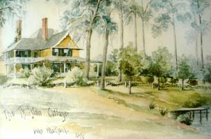 Historic Painting of Thurston House