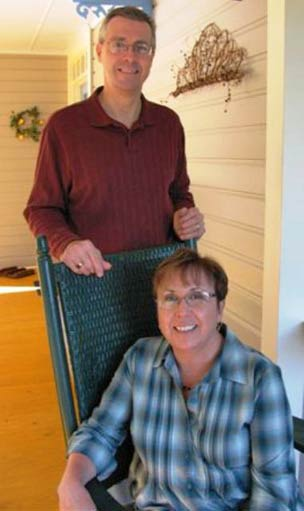 Joe and Carole, innkeepers providing fine Florida Accommodations
