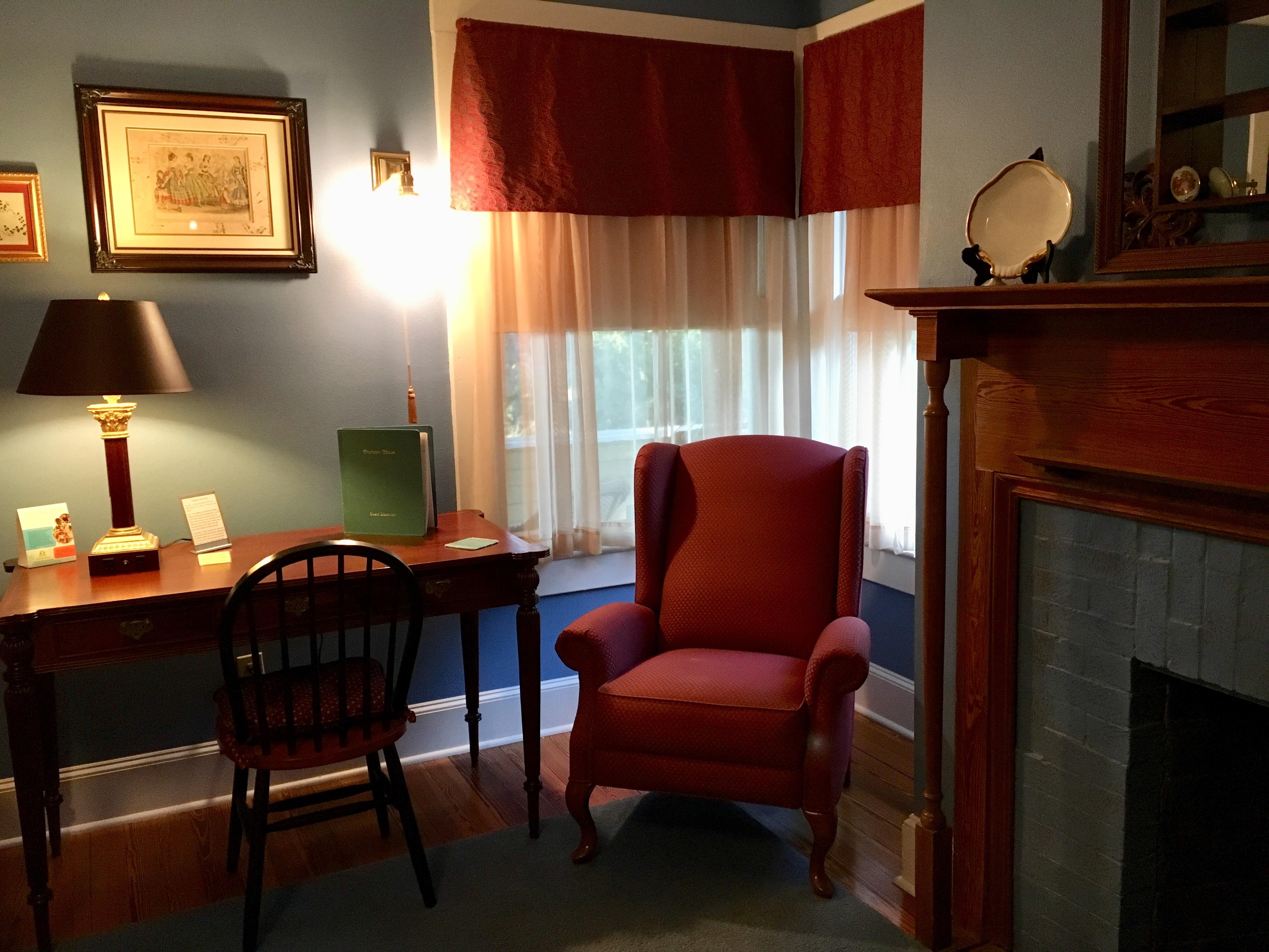 Hirsch room corner
