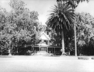 Historical photo of house